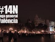 Reportaje #14N Vaga general València de l'Andana Audiovisual, productora audiovisual, www.landana-audiovisual.com