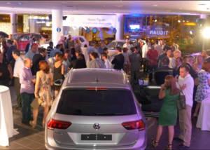 presentacion Volkswagen Tiguan en Valencia Levante Wagen