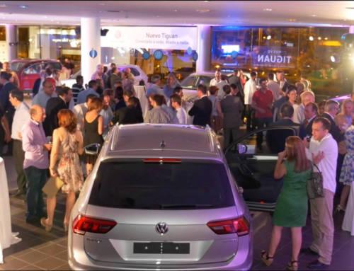 Vídeo de la presentación del nuevo Volkswagen Tiguan en Valencia