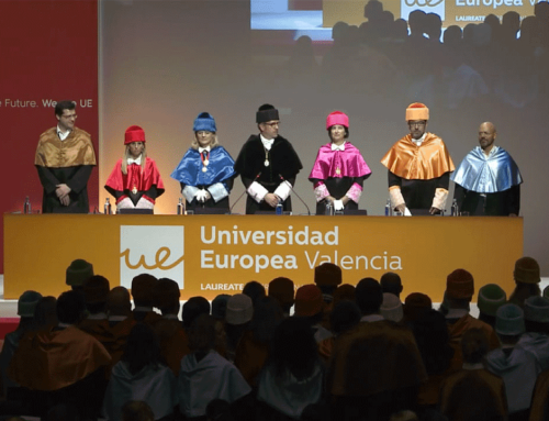 Streaming de la graduación de la Universidad Europea de Valencia
